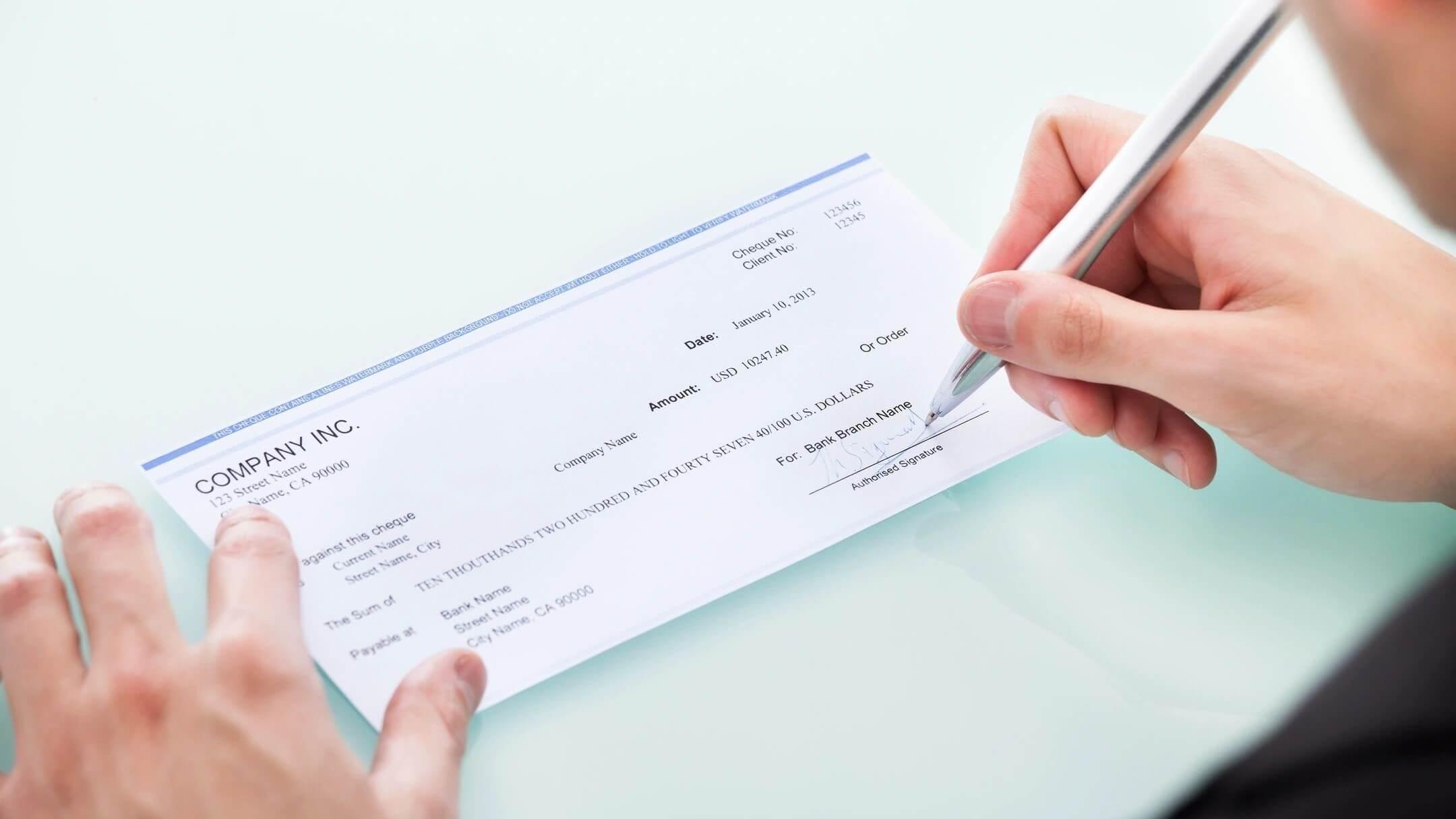 online checks